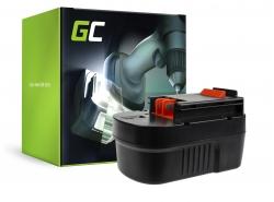 Batterie Green Cell (3Ah 14.4V) FSB 14 HPB 14 A14E H1 A14 HPB14 pour Black&Decker CRS144K P EPC14 HP148F2K EPC14CA EPC14CAB