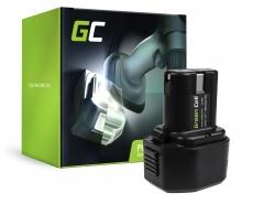 Batterie Green Cell (1.5Ah 7.2V) BCC715 EB712S EB714S EB7 pour Hitachi NR90GC2 FDS7DVA DN6DM DN10DSA NR90GC WH6DC