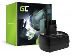 Green Cell ® Batterie 6.25470 pour Metabo BSZ 9.6 BZ 9.6 Impuls ULA 9.6-18