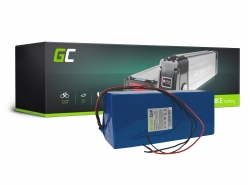 Green Cell® Batterie Vélo Electrique 48V 17.4Ah Li-Ion Cellules Panasonic Battery Pack E-Bike