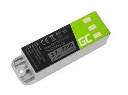 Green Cell ® Batterie 010-10863-00 pour GPS Garmin Zumo 400 450 500 Deluxe