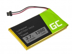 Green Cell ® Batterie Topaz pour GPS Navigon 70 70/71 Plus Easy Premium