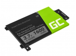 Green Cell ® Batterie 58-000008 pour Amazon Kindle Paperwhite I 2012 Lecteur ebook