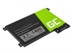 Green Cell ® Batterie 170-1056-00 pour Amazon Kindle Touch 2011 Lecteur ebook