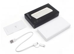 Power Bank d'origine Xiaomi ZMI 20000mAh avec indicateur LED - NOUVEAU