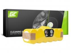 Batterie Green Cell (3.3Ah 14.4V) 80501 pour iRobot Roomba 500 510 530 550 560 570 580 600 620 625 630 650 700 760 780 800 880