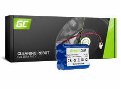 Batterie Green Cell (2.5Ah 7.2V) 4408927 11003068-00 GPRHC152M073 pour aspirateurs iRobot Braava / Mint 320 321 4200 4205