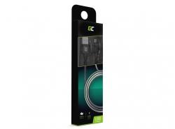 Câble Green Cell microUSB Nylon 1m