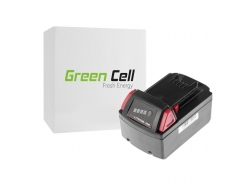 Green Cell ® Batterie 48-11-1830 pour visseuse perceuse Milwaukee C18 M18 18V 3000mAh