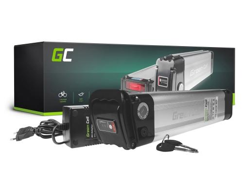Green Cell® Batterie Vélo Electrique 36V 14.5Ah Li-Ion Down Tube Ebike Batterie avec Chargeur