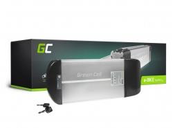Accumulateur Batterie Green Cell Rear Rack 36V 10Ah 360Wh pour Vélo Électrique Pedalec
