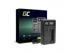 Green Cell ® Chargeur de batteries AHBBP-501 pour GoPro AHDBT-501, HD Hero5, HD Hero6+