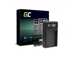 Green Cell ® Chargeur de batteries BCH-1 pour Olympus BLH-1, OM-D E-M1 Mark II, Grip HLD-9