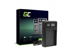 Green Cell ® Chargeur de batteries BCH-1 pour Olympus BLH-1, OM-D E-M1 Mark II, Grip HLD-9
