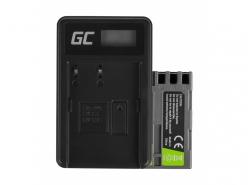Green Cell ® Batterie EN-EL3 et Chargeur MH-18 pour Nikon DSLR D100 D200 D300 D50 D70 D80