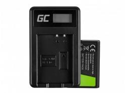 Green Cell ® Batterie LP-E10 et Chargeur LC-E10 pour Canon EOS Rebel T3, T5, T6, Kiss X50, Kiss X70, EOS 1100D