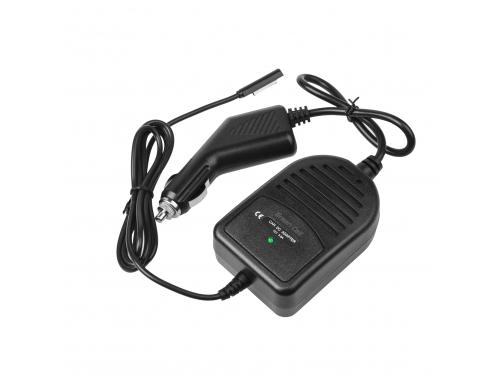 Chargeur de voiture pour ordinateurs portables Microsoft Surface RT, RT/2, Pro Pro 2 (12V 3.6A)