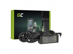 Green Cell ® Chargeur pour Asus EEE PC 1001 1005 1015 1201 1215 19V 2.1A