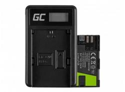 Green Cell ® Batterie LP-E6 et Chargeur LC-E6 pour Canon EOS 70D, 5D Mark II/ III, 80D, 7D Mark II, 60D, 6D, 7D 7.4V 1600mAh