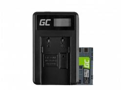 Green Cell ® Batterie LP-E6 et Chargeur LC-E6 pour Canon EOS 70D, 5D Mark II/ III, 80D, 7D Mark II, 60D, 6D, 7D 7.4V 1900mAh