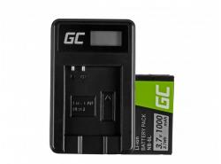 Green Cell ® Batterie NB-6L/6LH et Chargeur CB-2LY pour Canon PowerShot SX510 HS, SX520 HS, SX530 HS, SX600 HS