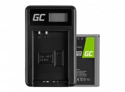 Green Cell ® Batterie BLN-1/BCN-1 et Chargeur BCN-1 pour Olympus PEN-F, OM-D EM1, EM5, OM-D E-M5 Mark II
