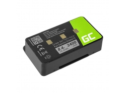 Green Cell ® Batterie 010-10517-00 011-00955-00 pour  GPS Garmin GPSMAP 276 296 376 376c 396 495 496