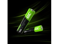 Green Cell 4x AAA HR03 950mAh Batterie