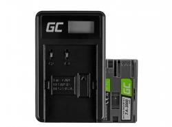 Green Cell ® Batterie BP-511 pour Canon EOS 5D, 10D, 20D, 30D, 50D, D30, 300D, PowerShot G1, G2, G3, G5, Pro 1 7.4V 1600mAh