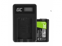 Green Cell ® Batterie FW50 pour Sony Alpha A7, A7 II, A7R, A7R II, A7S, A7S II, A5000, A5100, A6000, A6300 7.4V 1050mAh