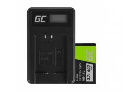 Green Cell Batterie NB-11L et Chargeur CB-2LD pour Canon IXUS 125 HS 285 HS PowerShot A2300 PowerShot ELPH
