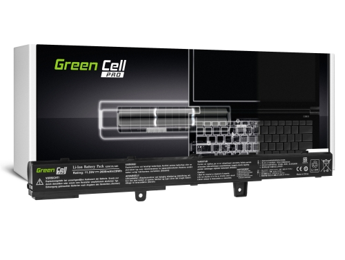 Green Cell PRO Batterie A41N1308 A31N1319 pour Asus F751L R509 R512 R512C X451 X551 X551C X551CA X551M X551MA X551MAV X751L