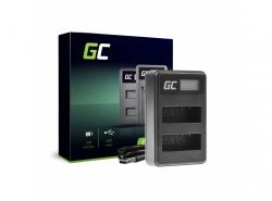Green Cell ® Chargeur de batteries BC-V615 | AC-VL1 pour Sony A58, A57, A65, A77, A99, A900, A700, A580, A56, A55,0 A850
