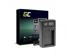 Green Cell ® Chargeur de batteries DE-A79B pour Panasonic FZ2000, G81, FZ1000, FZ300, G6M, GX8M, G70M, G70KA, GX8EG-K, GX8