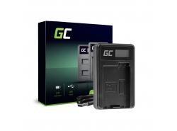 Chargeur de batteries LC-E8 Green Cell pour Canon LP-E8 EOS Rebel T2i T3i T4i T5i EOS 600D 550D 650D 700D Kiss X5 X4 X6