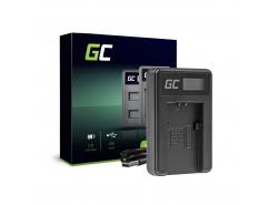 Chargeur de batteries BC-TRP Green Cell pour Sony NP-FH50 DCR-HC45 DCR-SR300E DCR-SR70 DCR-SX50E