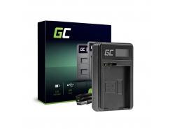 Chargeur de batteries MH-25 Green Cell pour Nikon EN-EL15 D850 D810 D800 D750 D7500 D7200 D7100 D610 D600