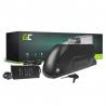 Accumulateur Batterie Green Cell Down Tube 36V 15.6Ah 562Wh pour Vélo Électrique Pedalec