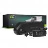 Accumulateur Batterie Green Cell Down Tube 48V 17Ah 816Wh pour Vélo Électrique Pedalec