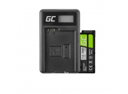 Green Cell ® Batterie NB-10L pour Canon PowerShot G15, G16, G1X, G3X, SX40 HS, SX40HS, SX50 HS, SX60 HS 7.4V 800mAh