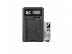 Green Cell ® Batterie LP-E8 et Chargeur LC-E8 pour Canon Rebel T2i, T3i, T4i, T5i, EOS 600D, 550D, 650D, 700D, Kiss X5, X6