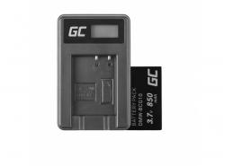 Green Cell ® Batterie DMW-BCG10 pour Panasonic Lumix DMC-TZ10 DMC-TZ20 DMC-TZ30 DMC-ZS5 DMC-ZS10 DMC-ZX1 DMC-ZX3 3.7V 850mAh
