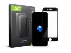 Green Cell PRO GC Clarity Verre Trempe pour iPhone 7/8 Écran Tempered Glass, Ecran 3D Incurvés Bords Couverture Écran 9H