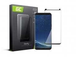 Green Cell PRO GC Clarity Verre Trempe pour Samsung Galaxy S8 Écran Tempered Glass, Ecran 3D Incurvés Bords Couverture Écran 9H