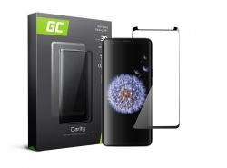 Green Cell PRO GC Clarity Verre Trempe pour Samsung Galaxy S9 Plus, Ecran 3D Incurvés Bords Couverture Écran 9H