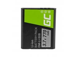 Green Cell ® Batterie Li-50B pour Olympus SZ-15 SZ-16 Tough 6000, 8000 TG-820 TG-830 TG-850 VR-370 XZ-1 XZ-10 3.7V 770mAh