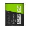 Batterie Green Cell ® Li-90B Li-92B pour caméra Olympus Tough TG-1 TG-2 TG-3 TG-4 TG-5 Stylus XZ-2 SP-100EE SH-50 3.7V 1050mAh