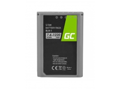 Green Cell ® Batterie BLN-1/BCN-1 pour Olympus PEN-F, OM-D EM1, EM5, OM-D E-M5 Mark II 7.4V 1020mAh
