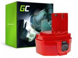 Batterie Green Cell (1.5Ah 14.4V) PA14 1420 1422 1433 1434 1435 pour Makita 6333D 6281D 6336D 6228D 6237D 6237DWDE 6337D 8280D
