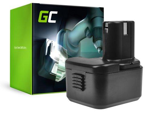Green Cell® Batterie (2Ah 12V) BCC1215 EB1214S EB1220BL EB12B pour Hitachi CG10DL CH10DL DS12DVB2 DS12DVF3 RB18D UB12D WH12D